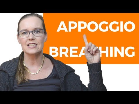 Appoggio Breathing (Breathing Technique for Singers)