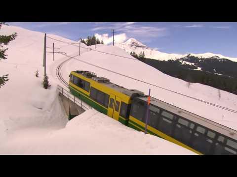 Rail Away: Zwitserland (Grindelwald - Jungfraujoch)
