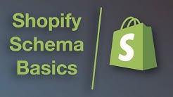 How Shopify Schema Works (Basics)