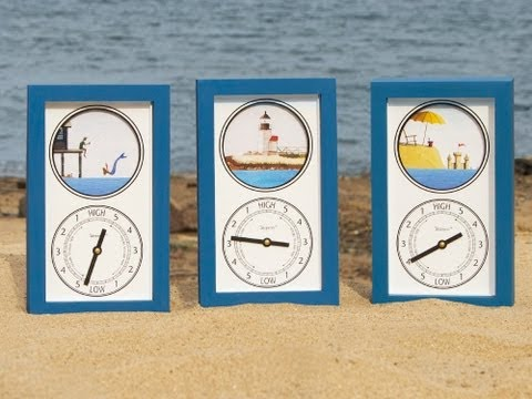 Tidepieces - Tidal Clocks