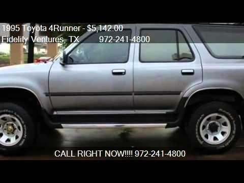 1995 Toyota 4Runner SR5 V6 4dr SUV for sale in Dallas, TX 75