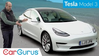 2020 Tesla Model 3 Performance UK Review: Why this electric car is a slice of genius | CarGurus UK