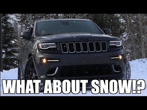 The Jeep SRT | Can It Do Snow?!