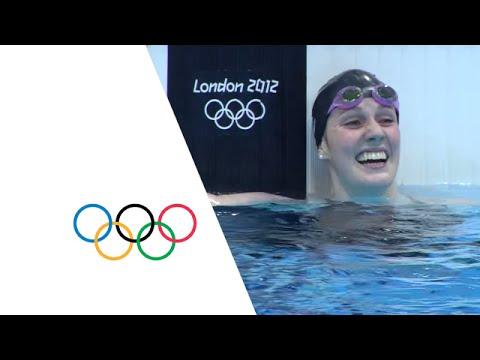 Missy Franklin Breaks 200m Backstroke World Record - London 2012 Olympics