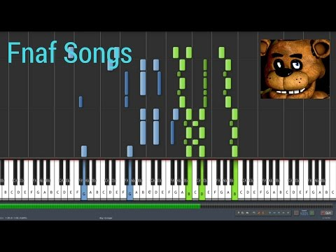 Fnaf sgs 1,2,3,4 Synthesia