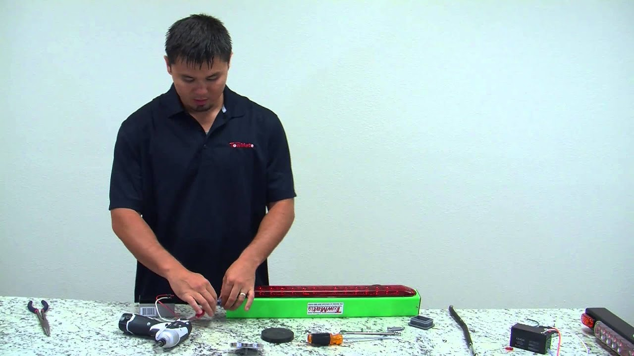 How to change a TowMate battery Towmate Wiring Diagram on