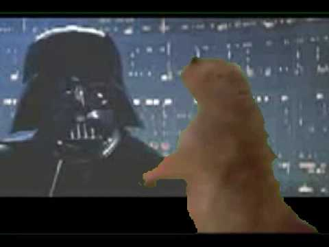 Dramatic Prairie Dog Meets Darth Vader Youtube