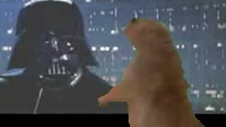 Dramatic Prairie Dog meets Darth Vader thumbnail