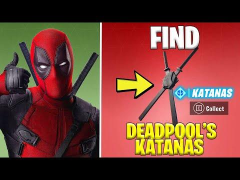 FIND DEADPOOL'S KATANAS *Shortest Location Guide* | Fortnite Season 2