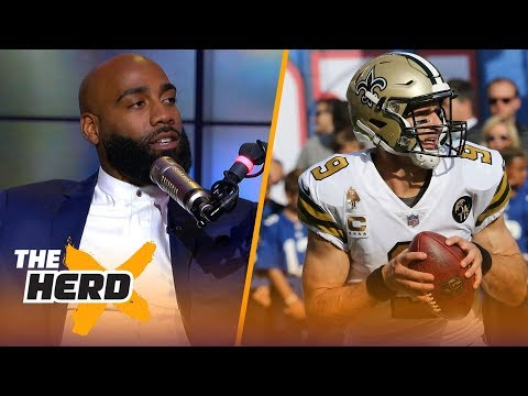 DeAngelo Hall discusses Rodgers, McCarthy's relationship, and facing Drew Brees | NFL | THE HERD