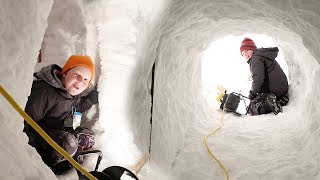 BIGGEST SNOW FORT EVER BUILT!!! - Ultimate Snow Fort 6 with Ice Fishing? 🐟vlog e362 - Season 6