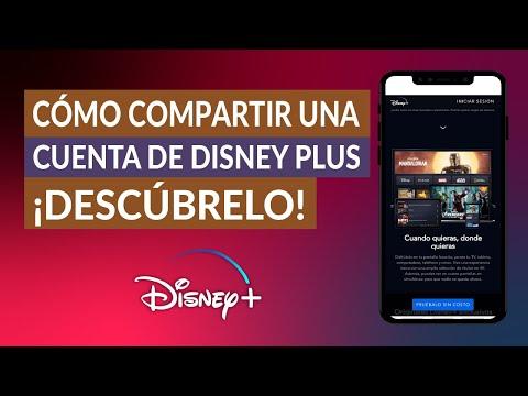 Cómo Compartir una Cuenta de Disney Plus con mis Amigos o Familiares