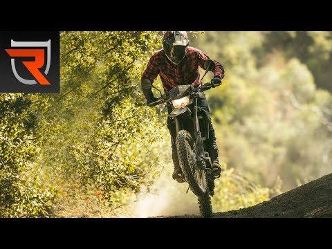 2018 Kawasaki KLX250 First Test Review Video   Riders Domain