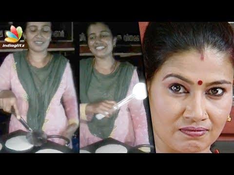 സ്ത്രീധനത്തിലെ ശാന്ത ഇപ്പോൾ തട്ടുകടയിൽ | Serial Actress  Kavitha Lakshmi  running street shop