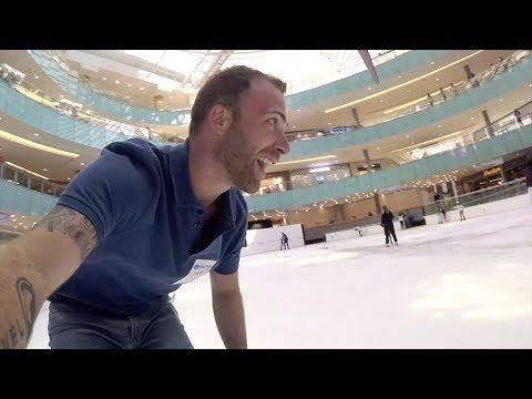 ICE SKATING AT THE GALLERIA MALL | Dallas, Texas