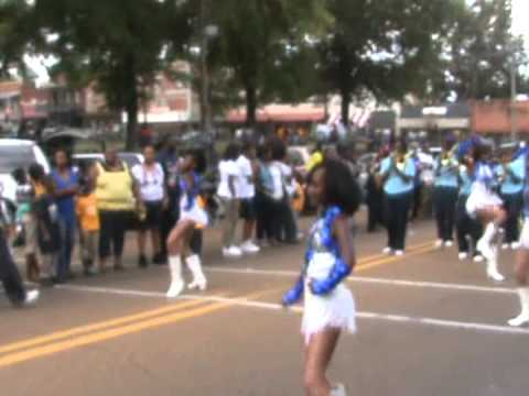 Canton High Home Coming Parade 2012(Nichols Middle School Band)