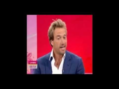 Ben Fogle on Lorraine discussing filming the new Typhoo Tea Adverts