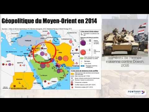 Proche et Moyen Orient, foyer de conflits depuis 1945