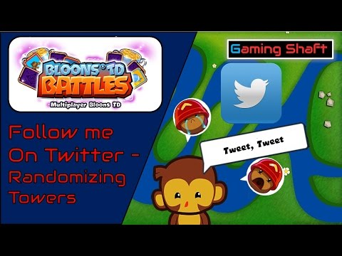 Bloons TD Battles - Follow me on Twitter - Clash Royale Drama xD