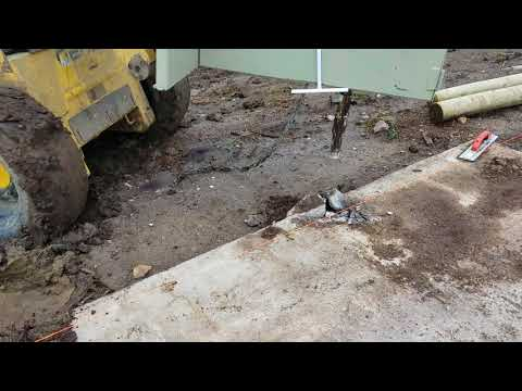 Peerbuilt C-FORCE DRIVER breaking concrete