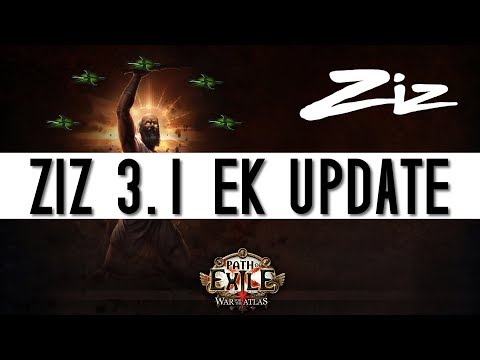 Path Of Exile - Ethereal Knives Inquisitor 3.1 Update - Zizaran