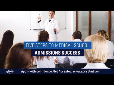 Medical School Admissions Consulting 5 Steps To Medical School