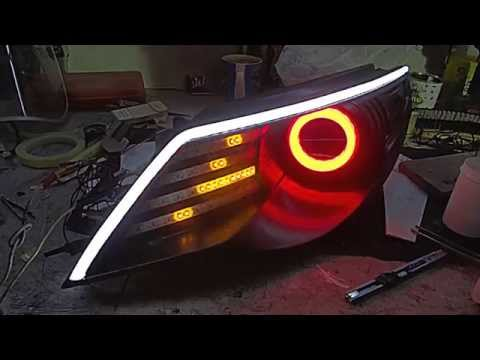 Passat cc Headlights by Diamond Tuning