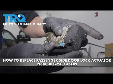 How to Replace Passenger Side Door Lock Actuator 2000-06 GMC Yukon