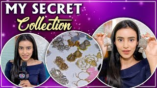 Ankitta Sharma REVEALS Her Earring Collection | TellyMasala