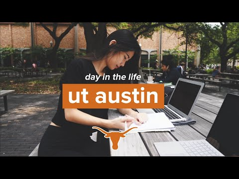 UT Austin Day in the Life | Typical Weekday