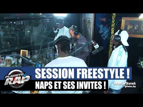 Youtube: Naps – Session freestyle avec Ivory, Manny & Kid! #PlanèteRap
