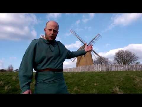 Wind Farm Protester