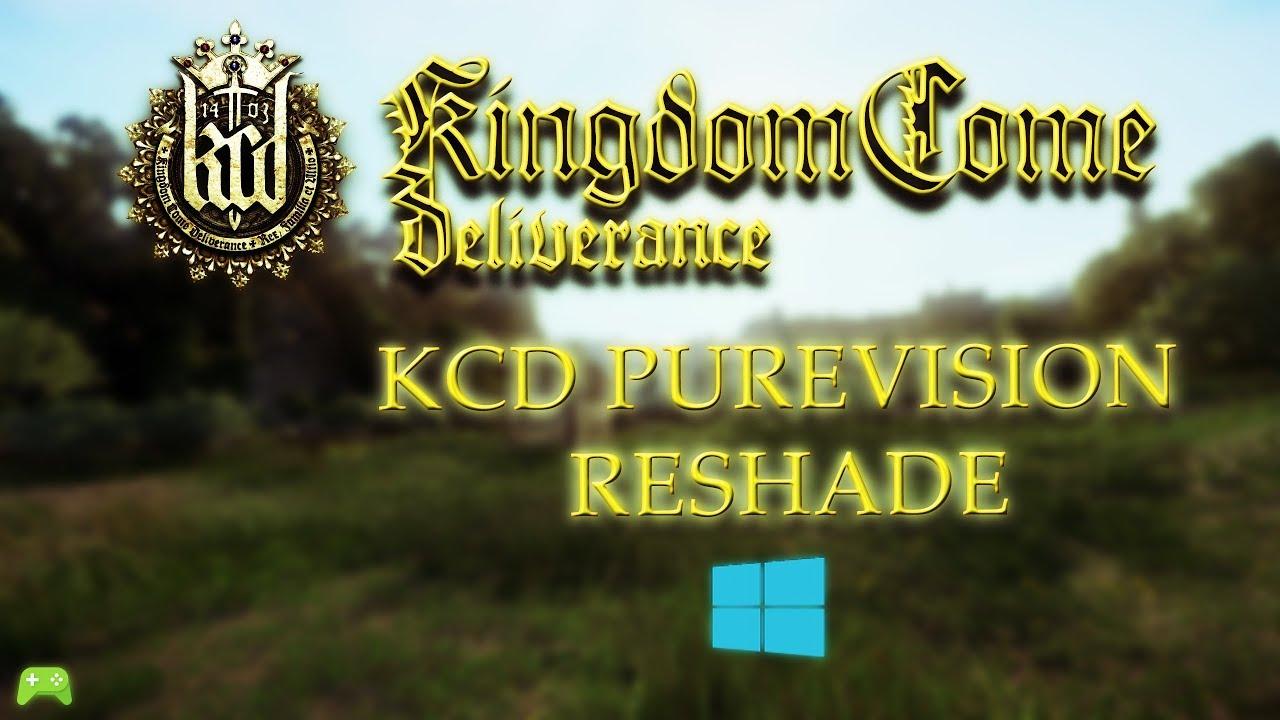 Kingdom Come Deliverance KCD PUREVISION RESHADE Mod showcase [HD]