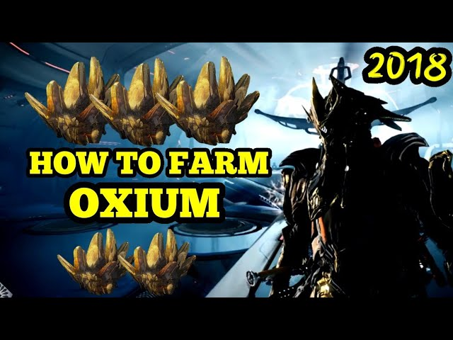 Best Oxium Farm 2021 Best Oxium Farm (2018) | Warframe Oxium Farming Guide   YouTube