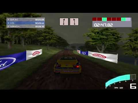 Colin McRae Rally 2 - PC / PS - hard FINAL - United Kingdom