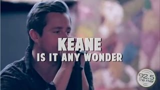 Keane performs