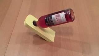 Magic Wine Bottle Holder Painted MDF