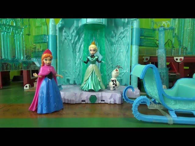 겨울왕국 엘사 공주, 얼음성에서 출발 Princess Elsa, a frozen ice castle