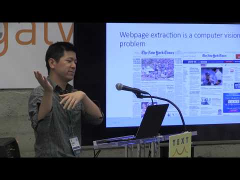 Text By the Bay 2015: Mike Tung, Turning the Web into a Structured Database