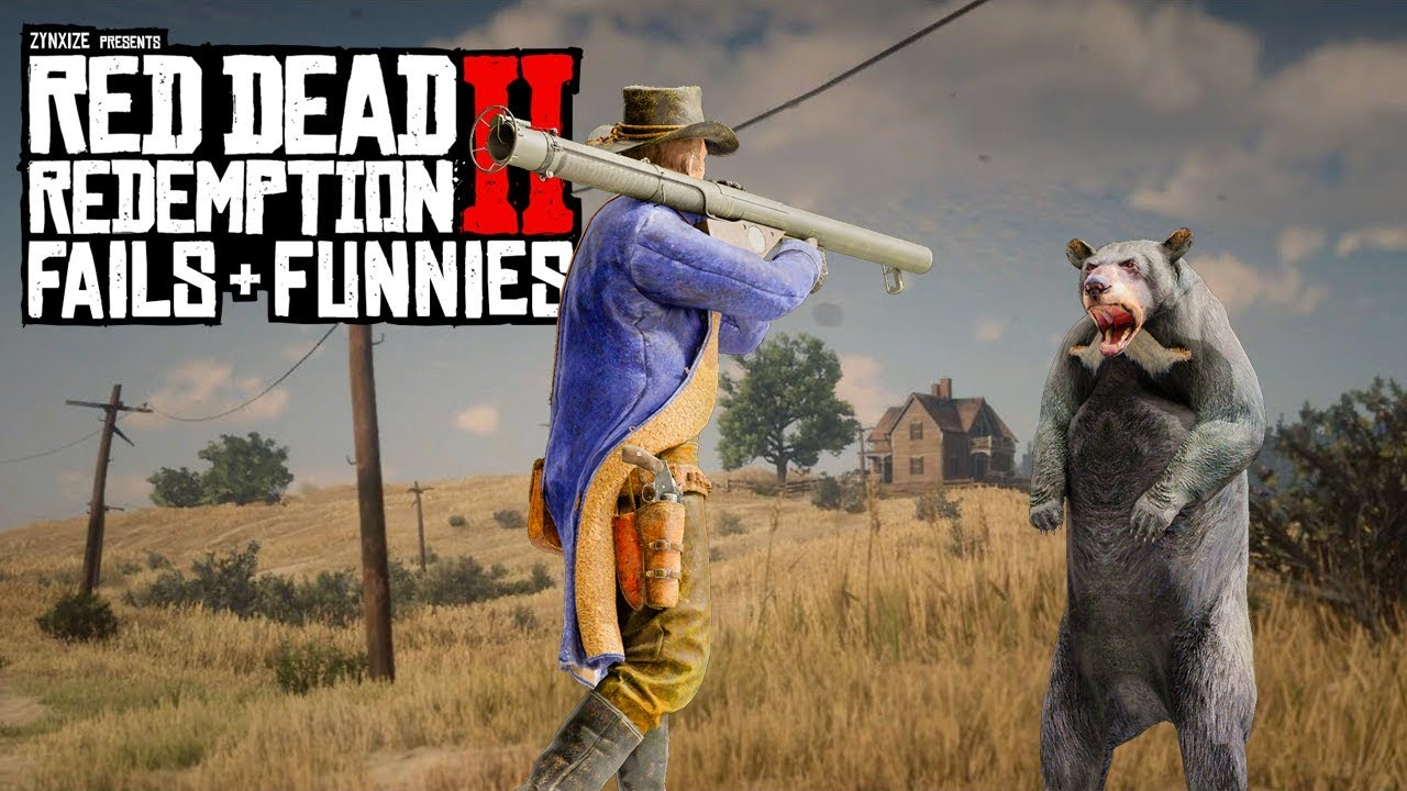 Red Dead Redemption 2 - Fails & Funnies #83