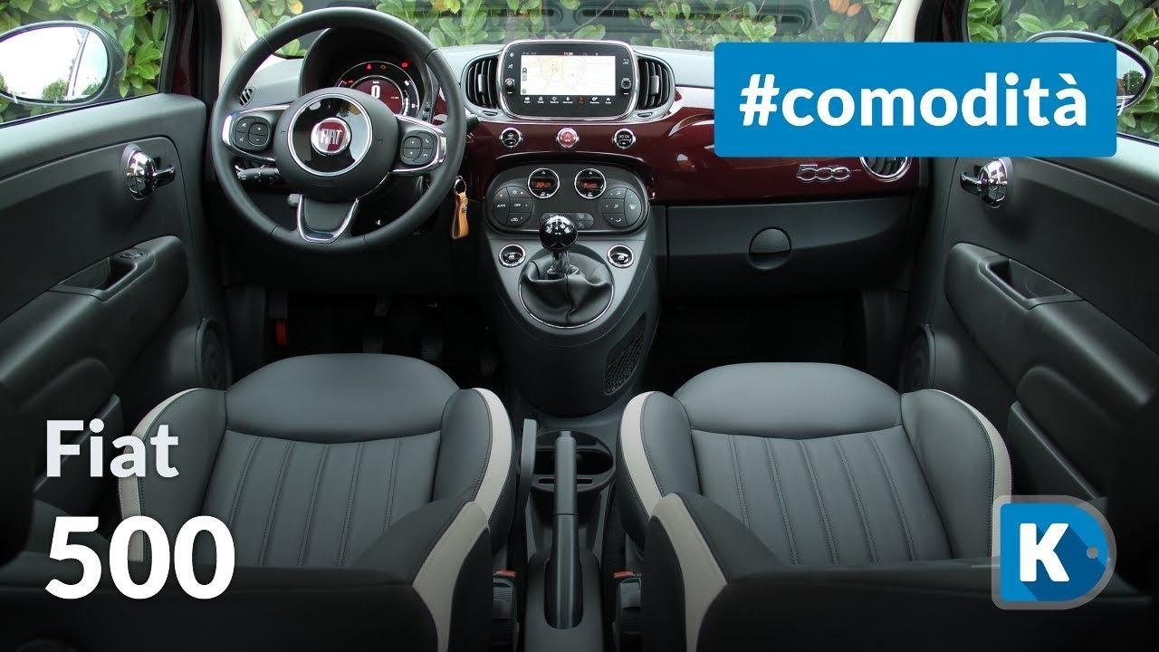 Fiat 500 Comodita Interni E Praticita D Uso