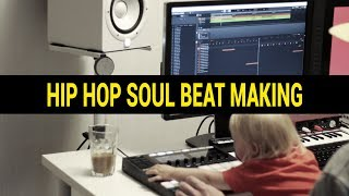 Hip Hop Soul Beat Making With Maschine MK3
