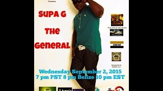 Garifuna Music & Talk With DJ Labuga Presents Supa G