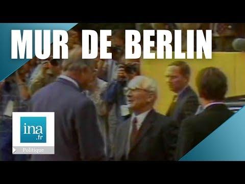 Erich Honecker en visite officielle en RFA - Archive INA