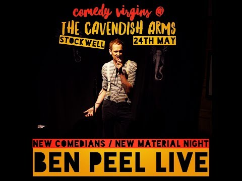 Ben Peel LIVE COMEDY  Cavendish Arms