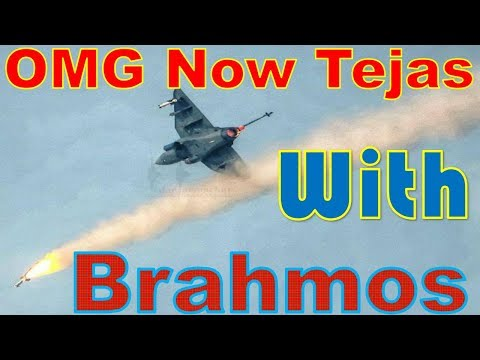 India's multi role Jet Tejas to be equipped with  'Brahmos Light'
