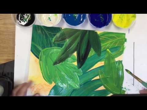 Painting in the Jungle with Henri Rousseau