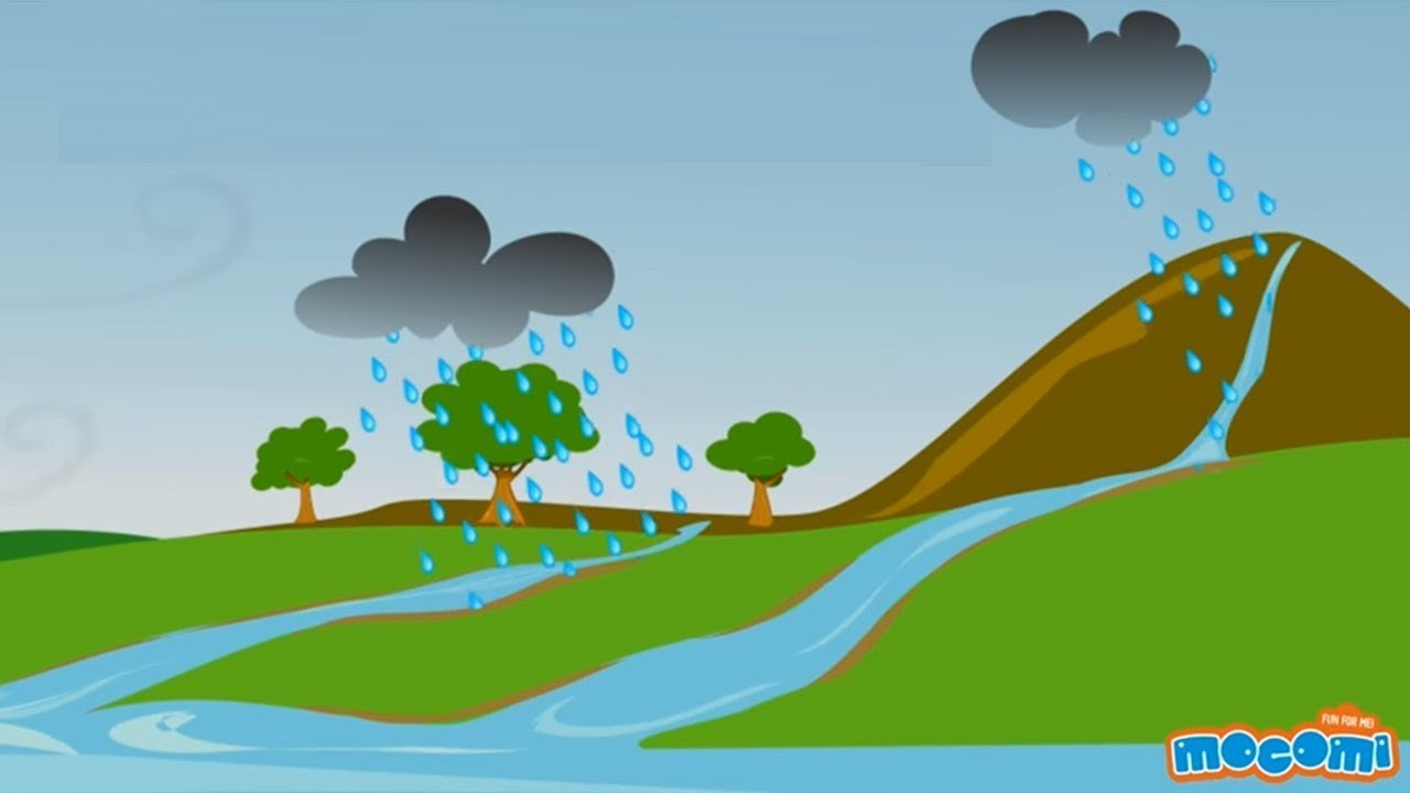 water cycle | geography for kids | educational videos by mocomi