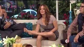 Sexy Feet And Legs   Galilea Montijo And Andrea Legarreta
