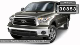 2012 TOYOTA TUNDRA 4WD TRUCK Middletown, CT B10818U